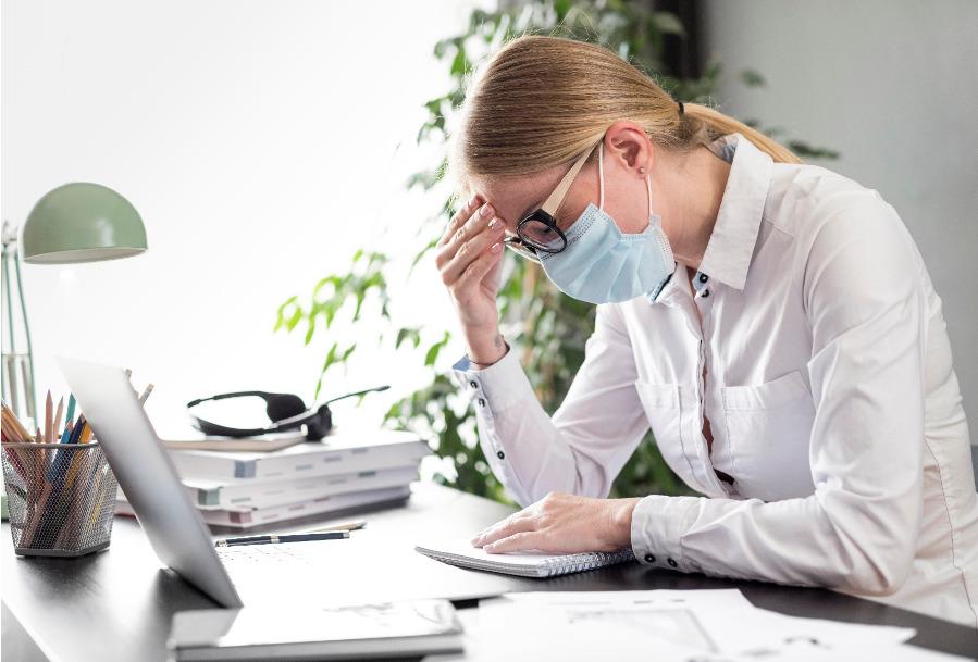 Secuelas psicológicas de la covid-19 en los trabajadores